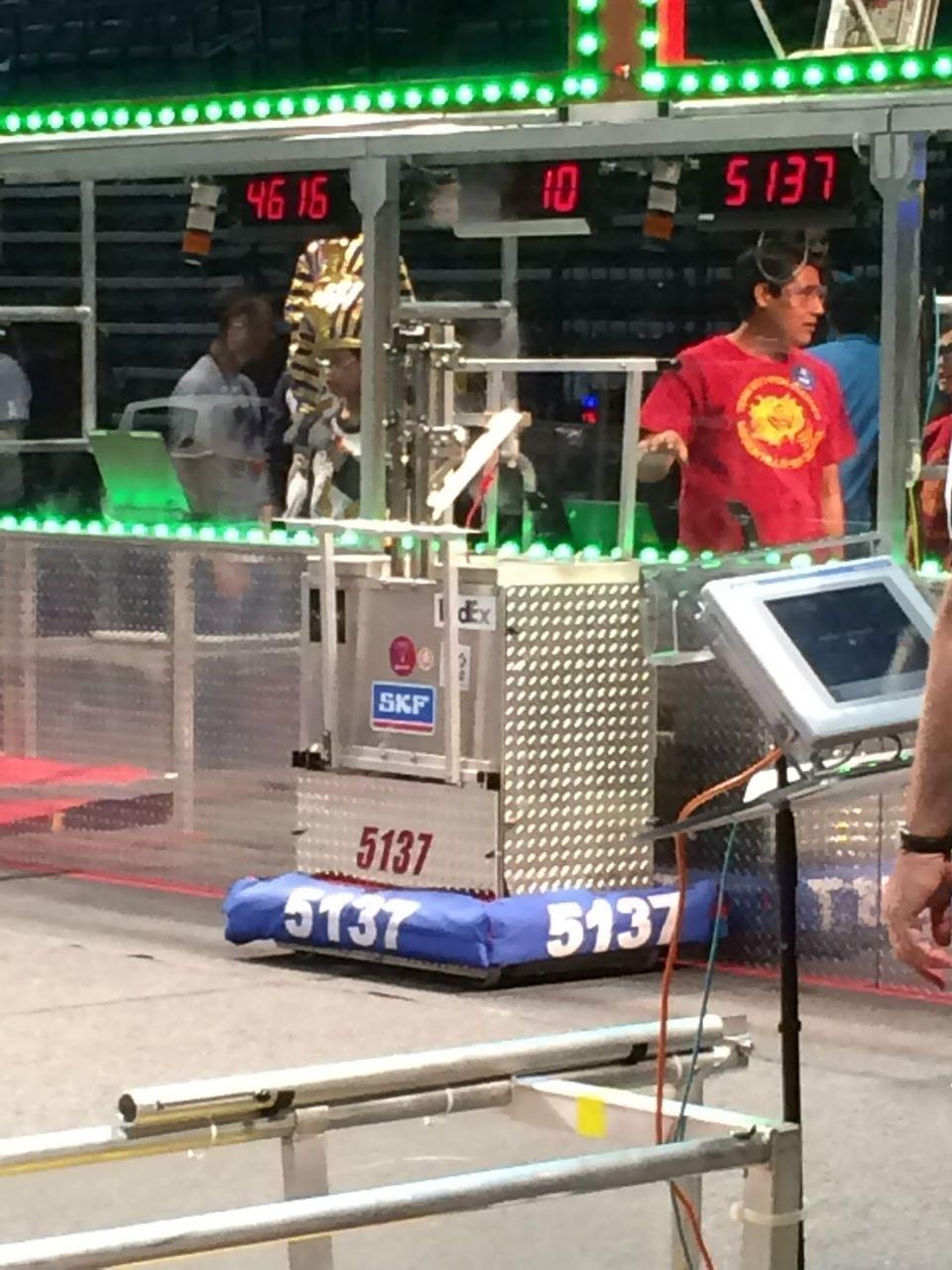 MHHS Iron Kodiaks Winning Defensive Robot