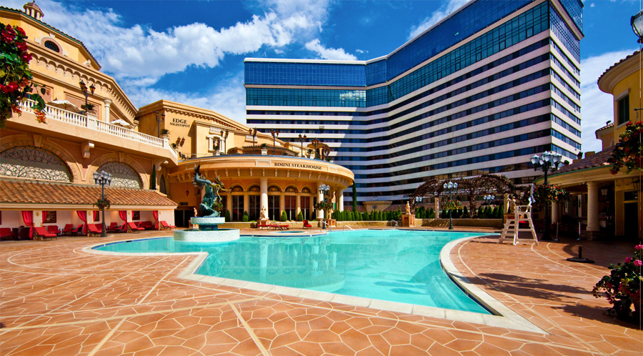 Peppermill Upper Pool and Cabanas